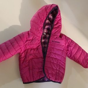 Columbia jacket for toddler girl